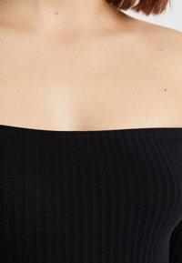 New Look - BARDOT BODY - Long sleeved top - black - 4