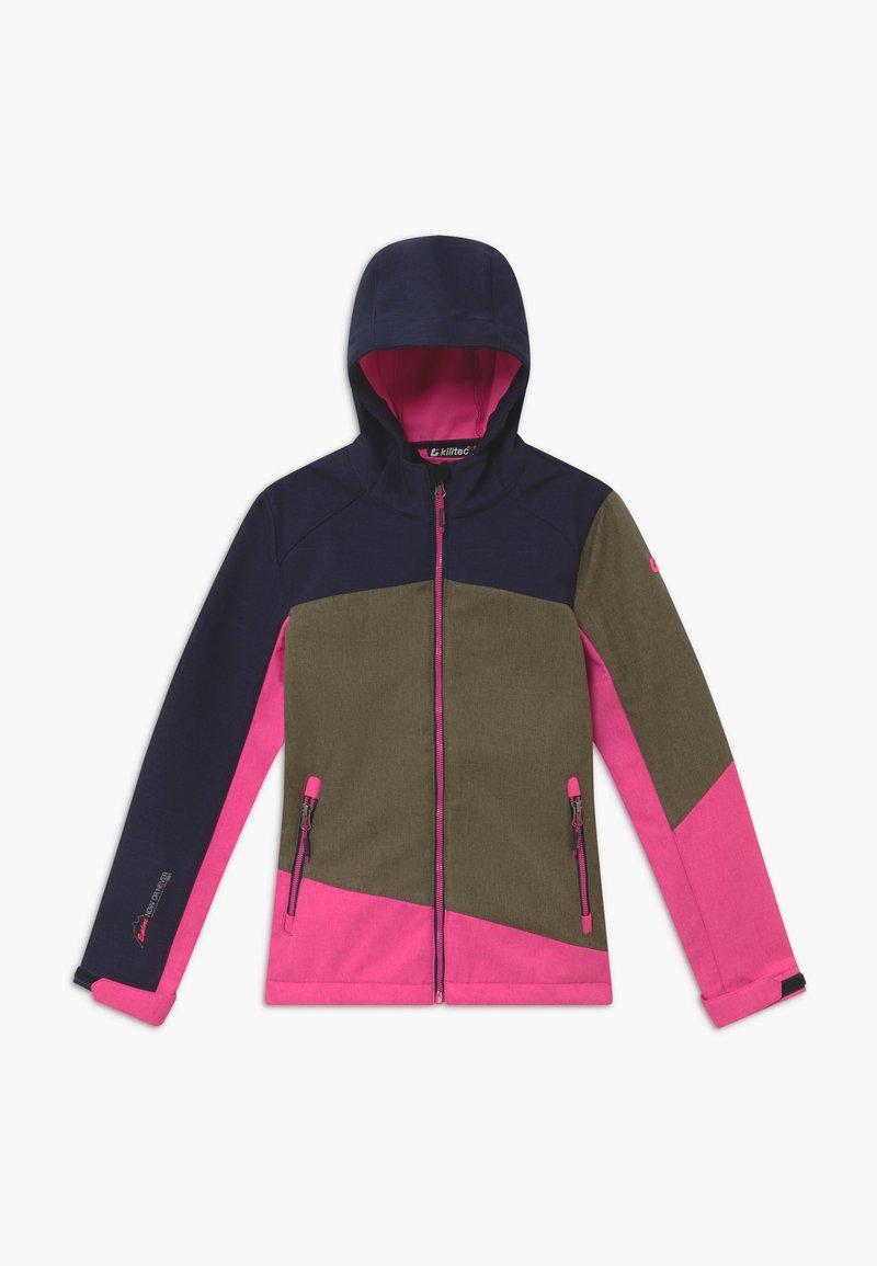 Killtec - LYNGE GIRLS - Soft shell jacket - khaki