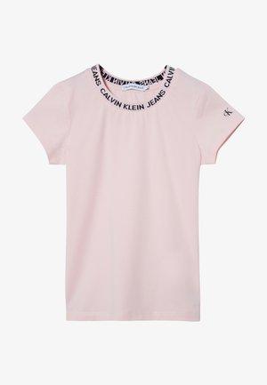 LOGO  - T-shirt z nadrukiem - pink