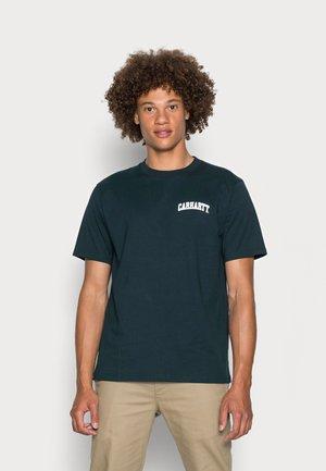 UNIVERSITY SCRIPT - T-shirt print - frasier/white