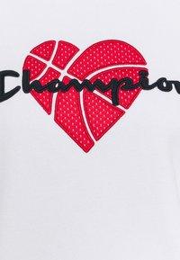 Champion - LOVE HOODED  - Sweatshirt - white - 2