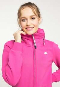 Schmuddelwedda - Mikina na zip - pink - 3