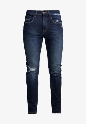 MILANO DESTROY - Jeans slim fit - deep indigo