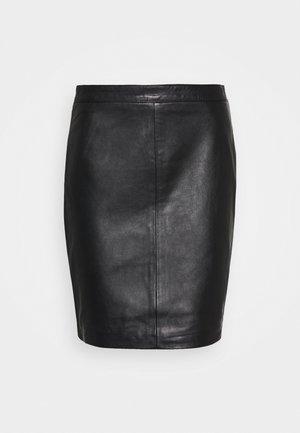 OBJCHLOE SKIRT - Pencil skirt - black