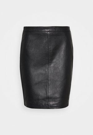 OBJCHLOE SKIRT - Falda de tubo - black