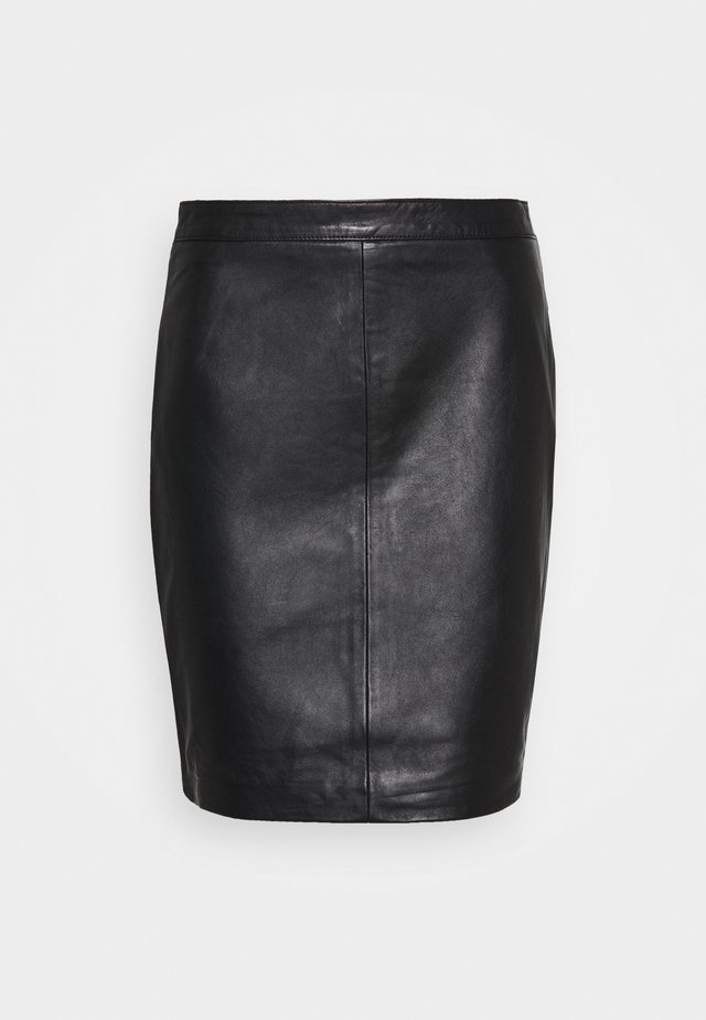 OBJCHLOE SKIRT - Pencil skirt - black