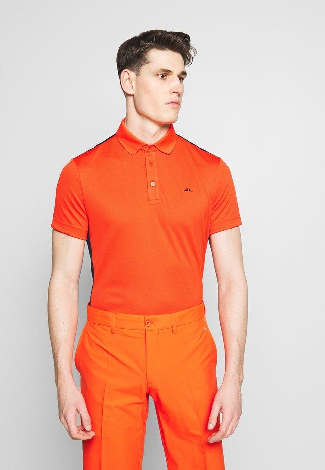 LOKE SLIM FIT TOURDRY - T-shirt sportiva - jl navy
