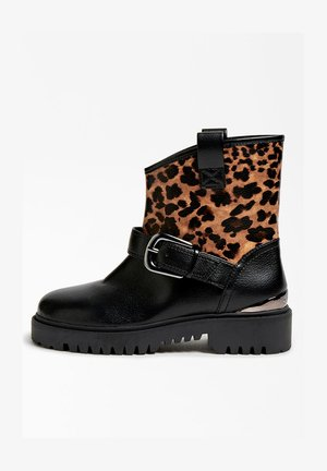 ORICAN EFFET  - Ankle boots - animalier
