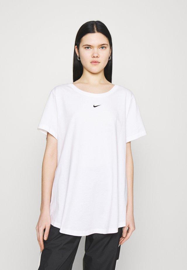 TEE PLUS - Jednoduché triko - white