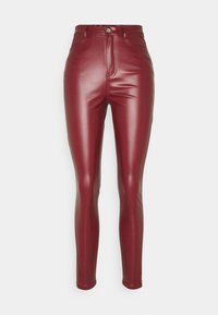 Missguided Tall - TROUSER - Kalhoty - wine - 0