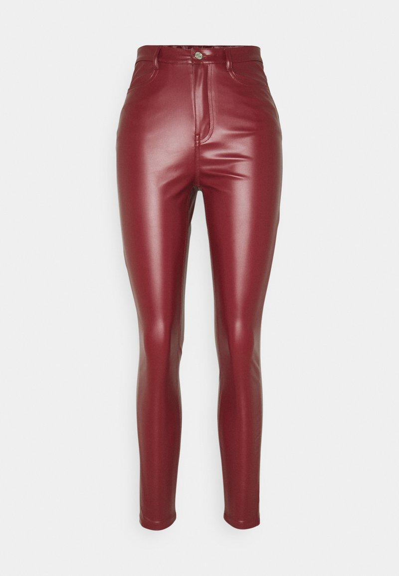 Missguided Tall - TROUSER - Kalhoty - wine