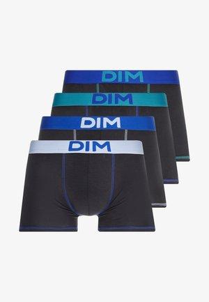 MIXANDCOLOR 3 PACK - Pants - NOIR BLEU CIEL/NOIR CT AZUR/NOIR BLEU TURQUOISE/NOIR BLEU INDIGO