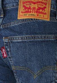 Levi's® - 512 SLIM TAPER LO BALL - Jeans slim fit - blue comet base - 2