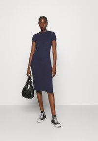 Zign - Jersey dress - dark blue - 1