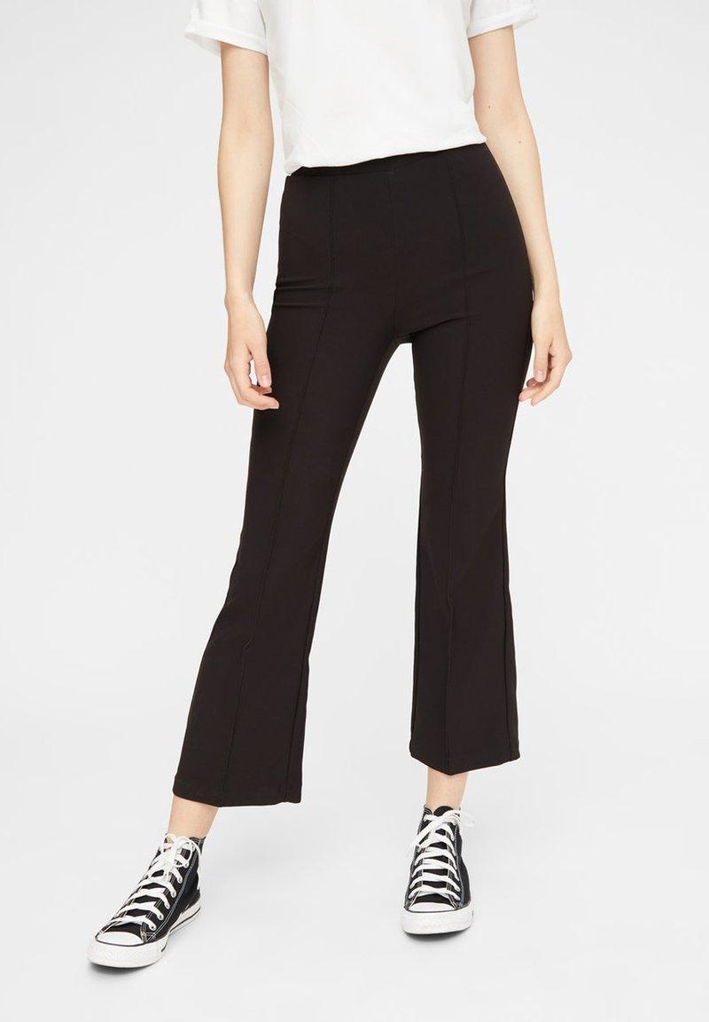 Pieces - Pantalon classique - black
