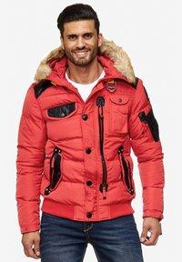 Cipo & Baxx - Winter jacket - red - 5