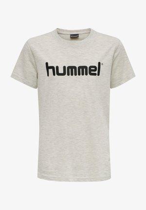 T-shirt imprimé - egret melange