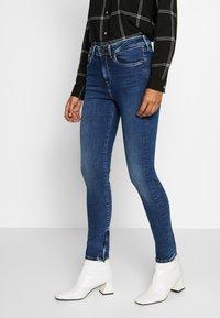 Pepe Jeans - Jeansy Skinny Fit - dark-blue denim - 0
