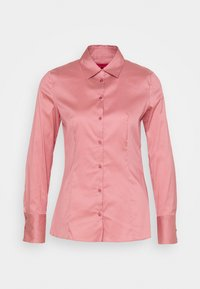 HUGO - THE FITTED  - Button-down blouse - dark pink - 6