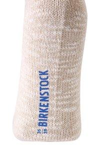 Birkenstock - SLUB  - Sokker - beige/white - 1