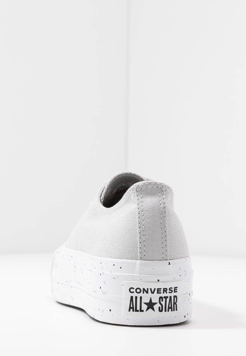 temerario contenido Vatio  Converse CHUCK TAYLOR ALL STAR LIFT - Trainers - mouse/moonstone  violet/white/grey - Zalando.ie