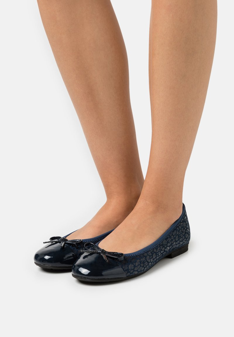 Jana - Ballet pumps - navy