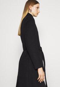 Bruuns Bazaar - JASMINA PERLE COAT - Klasický kabát - black - 5