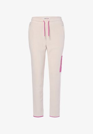 Tracksuit bottoms - sand pink