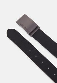 Urban Classics - IMITATION BUSINESS BELT - Belt business - black - 1