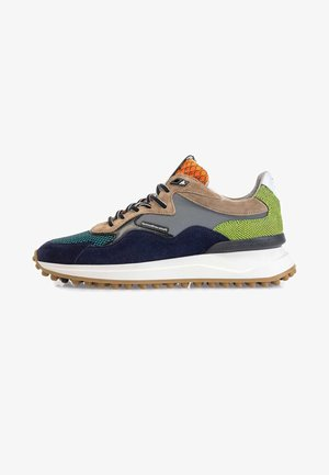 NOPPI  - Trainers - blue/ green/ sand