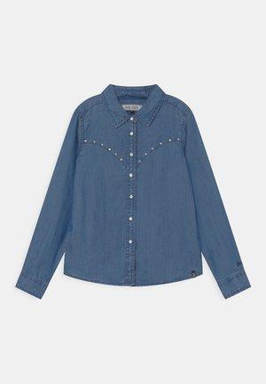 OLIVIA  - Button-down blouse - blue denim