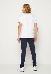 GANT - RETRO SHIELD - Print T-shirt - white - 2