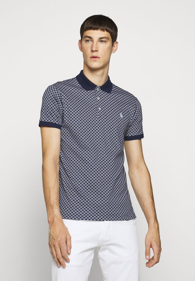 SOFT TOUCH - Polo - french navy/multi