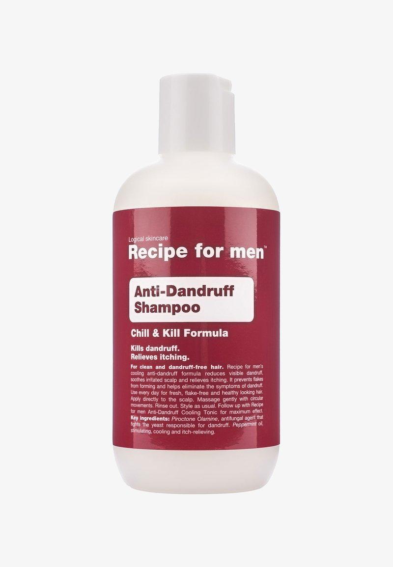 Recipe For Men - ANTI DANDRUFF SHAMPOO 250ML - Shampoing - -