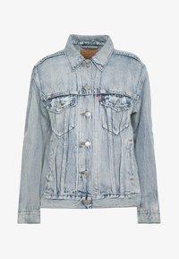 EX-BOYFRIEND TRUCKER - Denim jacket - extra-ordinary