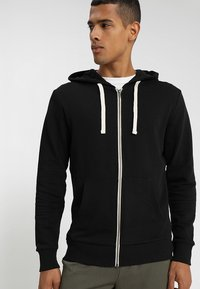 Jack & Jones - JJEHOLMEN - Bluza rozpinana - black/reg fit - 0