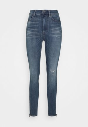 SHAPE HIGH SUPER ANKLE  - Jeans Skinny Fit - antic faded zaffre restored