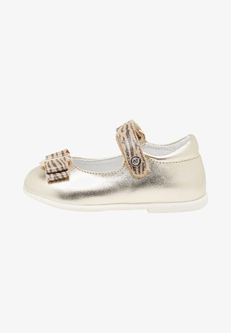 Naturino - NATURINO JETE - Ankle strap ballet pumps - gold
