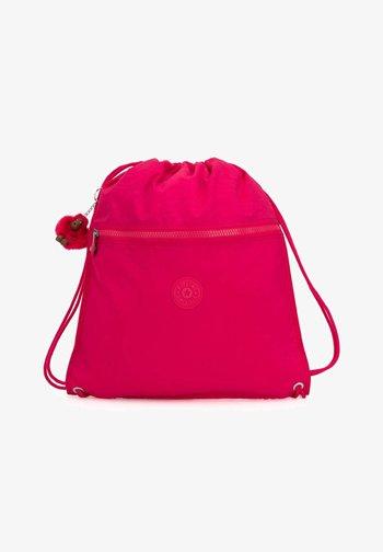 BACK TO SUPERTABOO - Drawstring sports bag - true pink