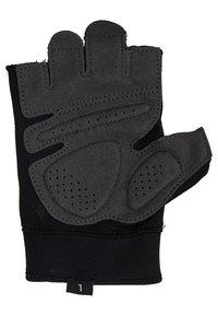 Nike Performance - MEN´S EXTREME FITNESS GLOVES - Fingerless gloves - black/anthracite/white - 2