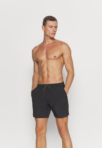 Burton Menswear London - CORE SWIM     - Swimming shorts - black - 0