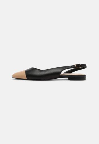 PROMISE CAP - Slingback ballet pumps - blush