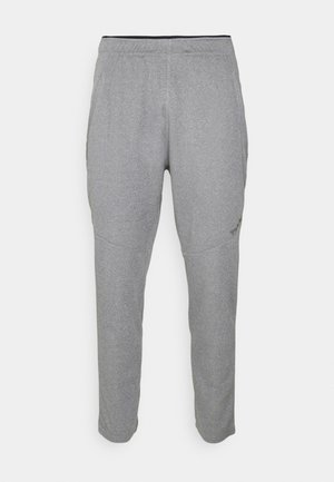 NALO TAPERED 7/8 PANTS - Teplákové kalhoty - dark grey melange
