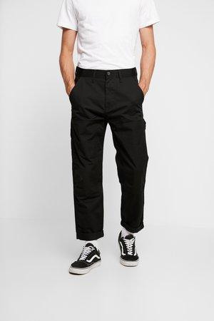 CARPENTER - Kalhoty - black