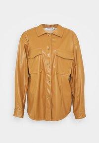 MILES BLOUSE - Košile - beige
