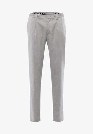 Trousers - sleet melange