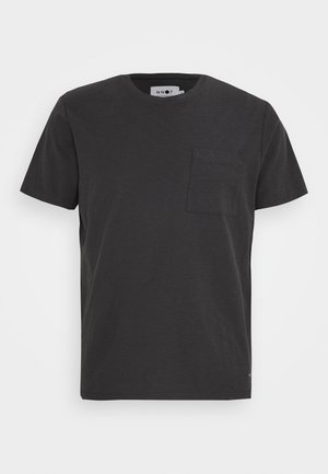ASPEN TEE - Basic T-shirt - dark grey