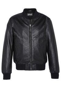 Schott - Kožená bunda - noir - 0