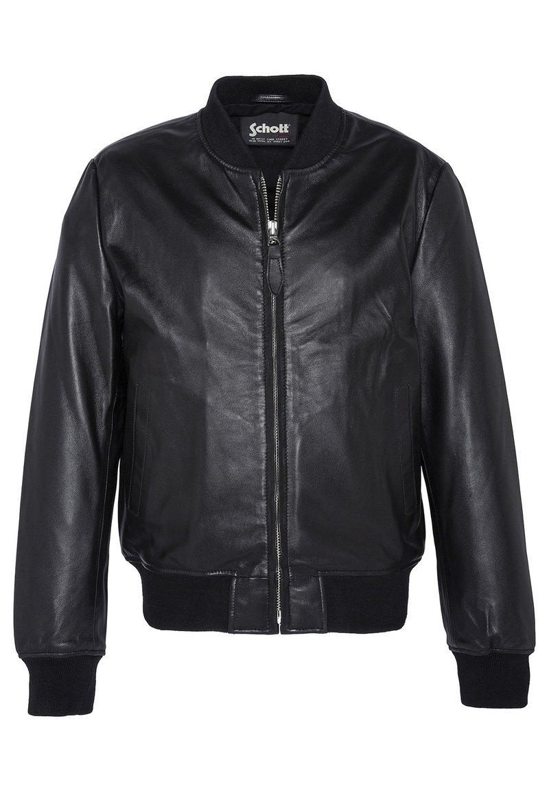 Schott - Kožená bunda - noir