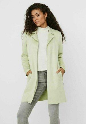 Short coat - fog green